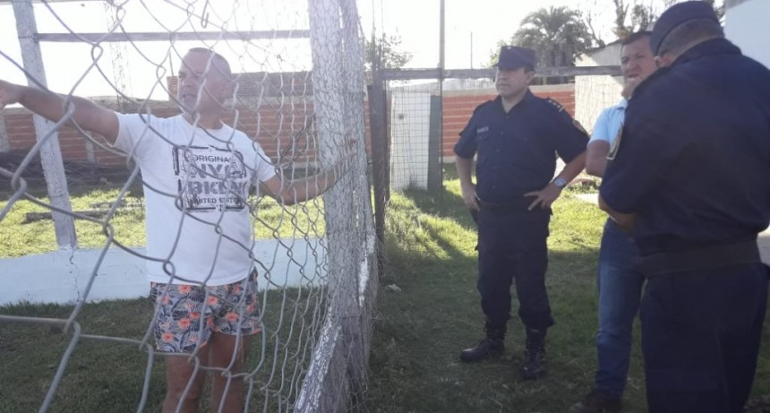 Inspección de Estadios y Delegación de Seguridad Deportiva habilitaron El Estadio del Club Las Flores para este 2019