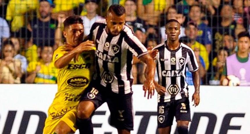 Botafogo goleó a Defensa y Justcia y lo dejó afuera de la Sudamericana