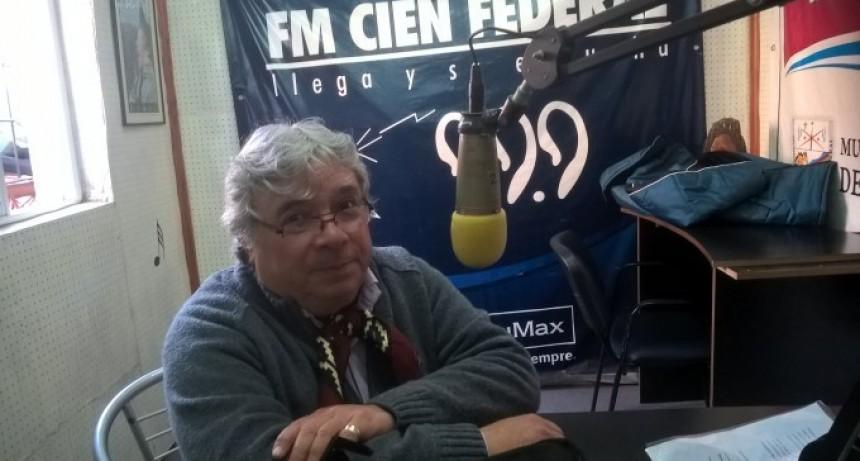 Luis Arturo Luna reconocido  por la Fundación Memoria del Chamame