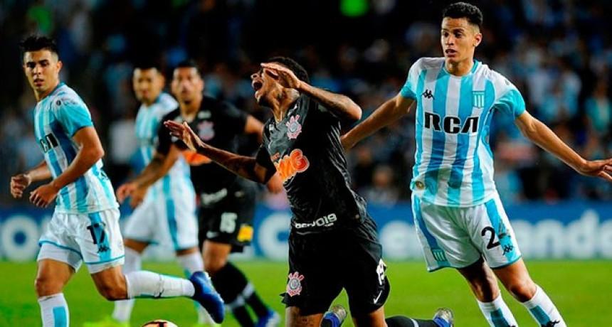 Racing perdió por penales ante Corinthians y se despidió de la Copa Sudamericana