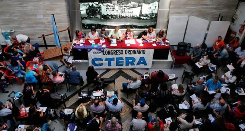 CTERA anunció un paro por 72 horas y no comienzan las clases el miércoles