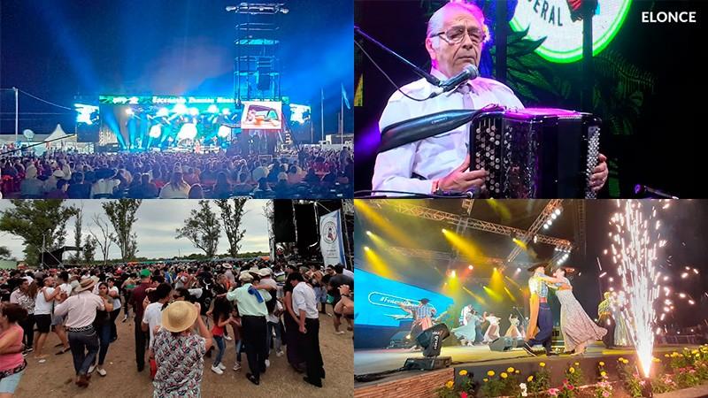 Con gran concurrencia cerró el Festival Nacional del Chamamé en Federal
