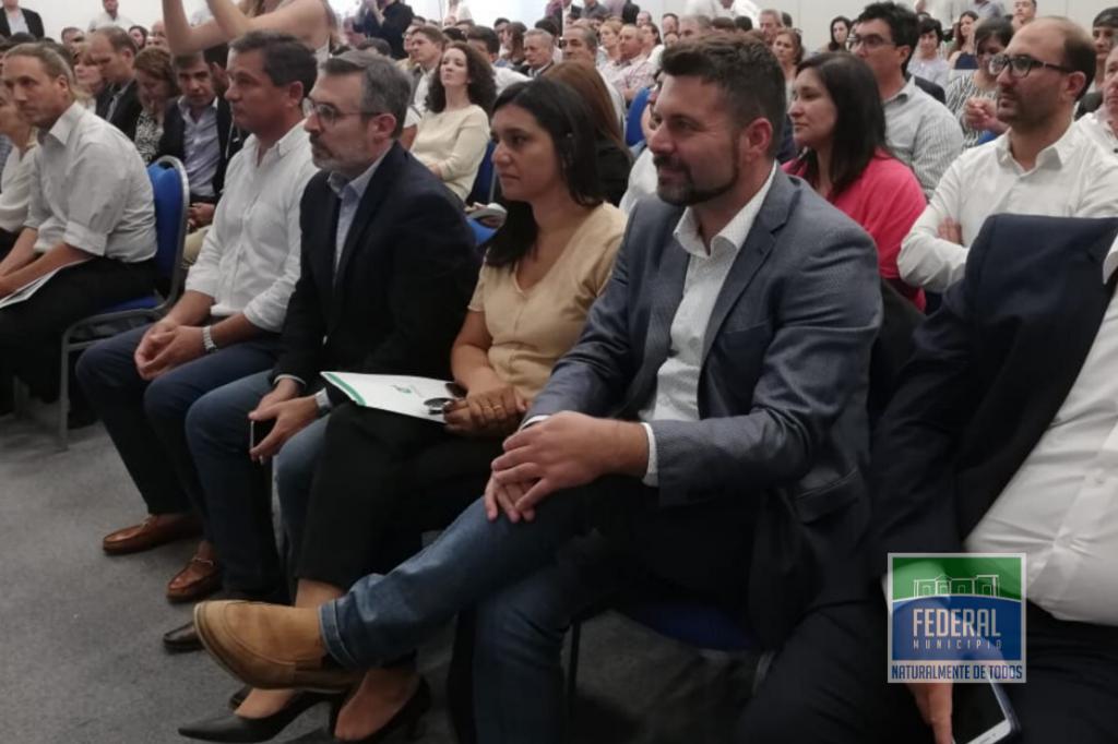 El Intendente de Federal participo del lanzamiento del Plan Alimentar en Entre Ríos