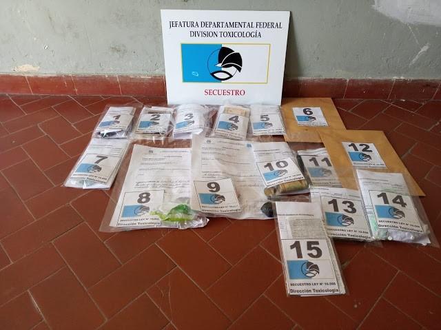 Preventiva dos mujeres detenidas por una causa de Narcomenudeo investigada por la División Toxicología de la Jefatura Departamental Federal