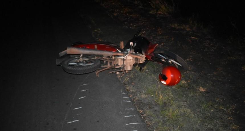 Accidente de transito con lesionado de consideración