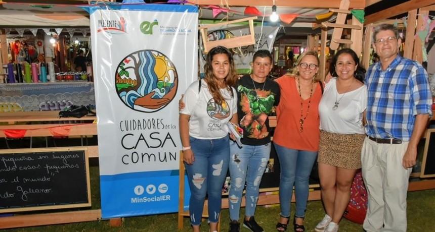 Desarrollo Social de la Provincial acompaño al Festival Nacional del Chamame