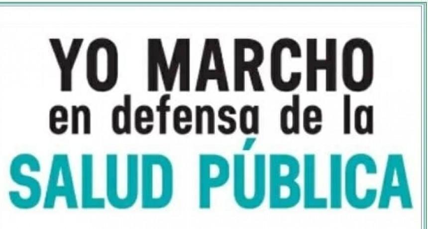 Para el jueves 27 convocaron a nueva marcha por la salud publica en Federal