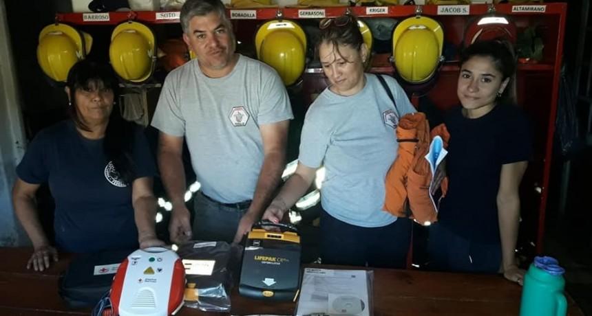 Nuevo equipamiento para los Bomberos Voluntarios