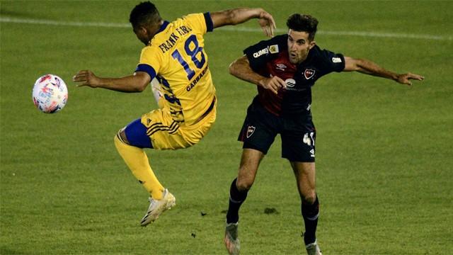 Boca venció a por 1 a 0 Newell´s y festejó por primera vez en el torneo