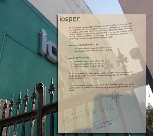 Iosper presentó la cuarta oferta de aumento a Femer