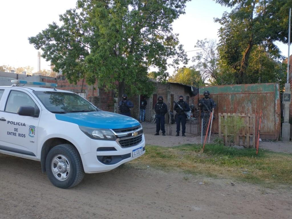 División Toxicologia  de la Jefatura Departamental Federal participó en los procedimientos realizados en la ciudad de Villaguay