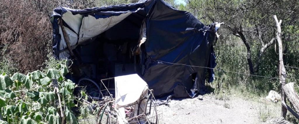 Se rescató a una familia que trabajaba en situación Insalubre en zona rural de Sauce de Luna