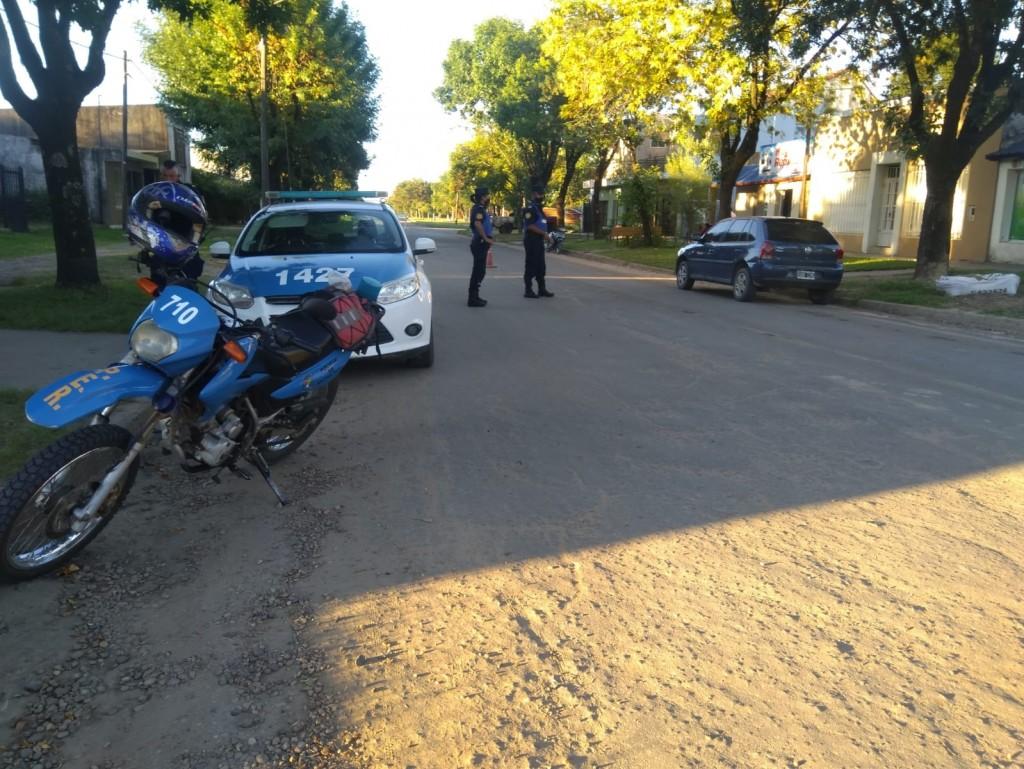 Procedimientos realizados por la Fuerza Policial en las últimas horas en el ámbito de este Departamento: