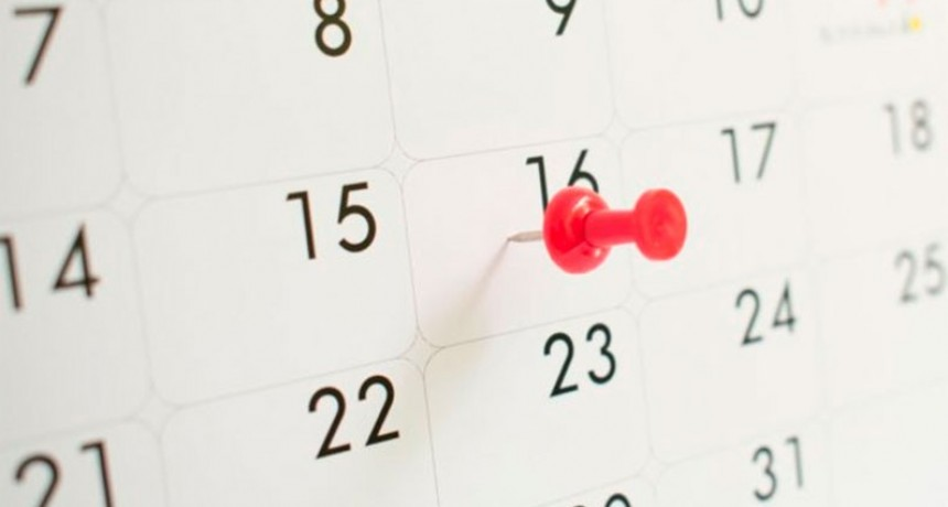 Cuánto hay que esperar para el próximo feriado tras el fin de semana de carnaval