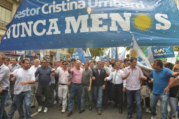 Entrerrianos en el Congreso junto a Cristina y Urribarri