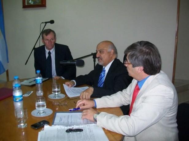 Felipe Torres y su discurso de apertura de sesiones en el H. C. Deliberante