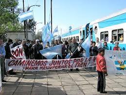 En Basavilbaso reclamaron por la vuelta del servicio ferroviario