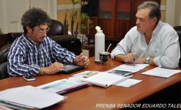 Importantes gestiones del Senador Taleb en Obras Públicas