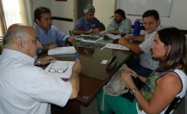 Reunión de trabajo por una obra energética para Federal