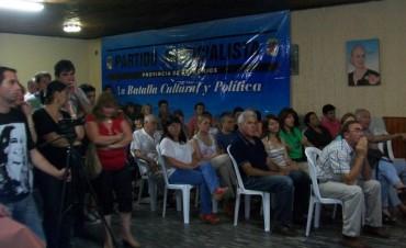 Eduardo Taleb convoca a la militancia del peronismo de Federal