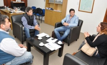 Reunión del Senador Taleb por proyectos productivos en Federal