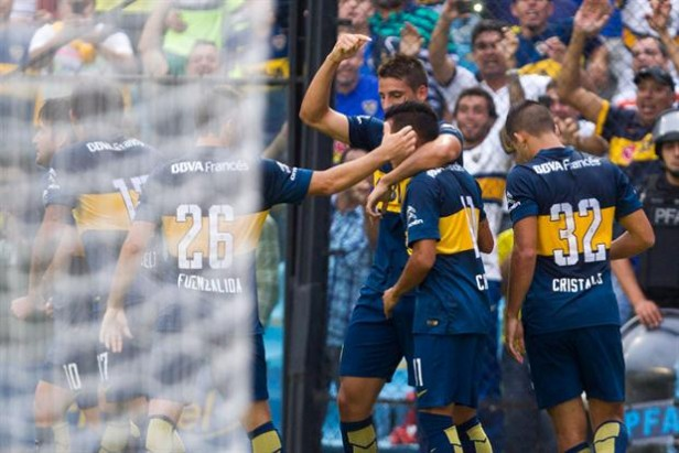 Boca sin brillar le gano 1 a 0 a Atlético Rafaela