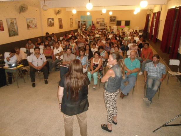La Agrupación 17 de Octubre celebró el día de la Mujer