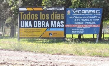 Según un  informe, Entre Ríos tiene tiene 2.630 kilómetros de rutas nuevas y reparadas