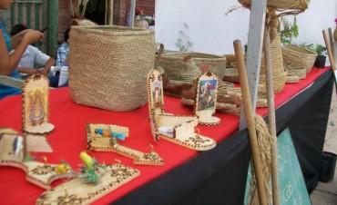 Muestra artesanal en Semana Santa