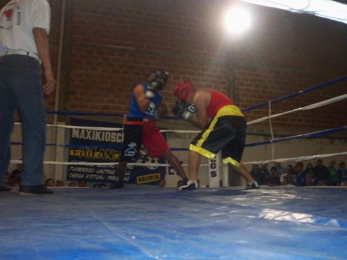 1ra Velada de Box en el Club Ateneo