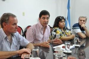 El presidente del C.G.E. fue a quejarse al Senado por los recortes de fondos que aplica Macri