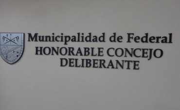 Apertura de sesiones del Honorable Concejo Deliberante