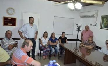 Vecinos de calle Soberanía le plantearon obras al Intendente Chapino