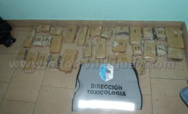 Secuestro de Droga en el control caminero de Villlaguay
