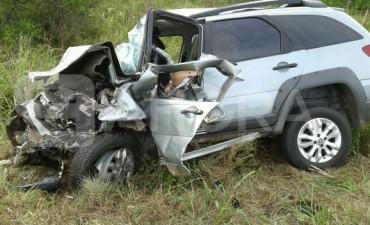 Accidente Fatal en la Ruta 127 cerca de Alcaráz