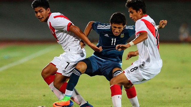 Sudamericano Sub 17: Argentina goleó a Perú y sigue con chances de clasificar