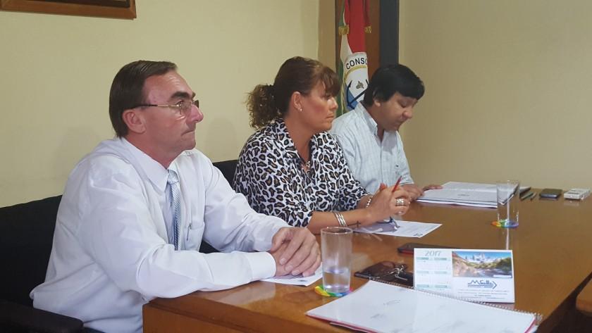 José Rubén Boxler dejo inauguradas las Sesiones Ordinarias del Honorable Concejo Deliberante de la Municipalidad de Conscripto Bernardi