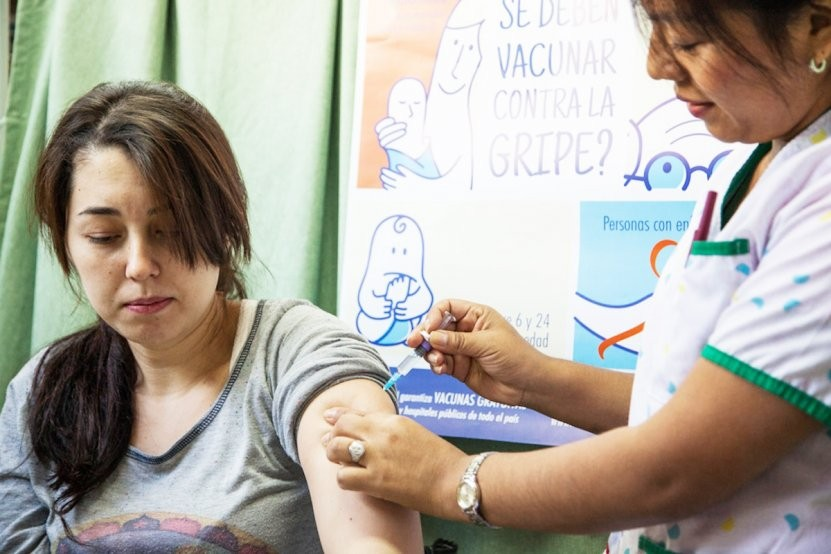 El martes comenzará a aplicarse la vacuna antigripal en Entre Ríos