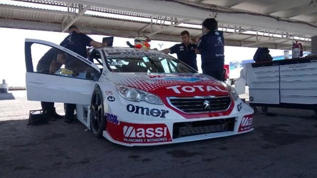 Súper TC2000: Werner fue cuarto en las pruebas comunitarias en el Gálvez