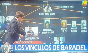 El asqueroso y repudiable apriete sin fin: ahora mostraron por TV los rostros de los hijos amenazados de Baradel