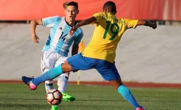 Sudamericano Sub 17: Argentina se despidió con una derrota ante Brasil