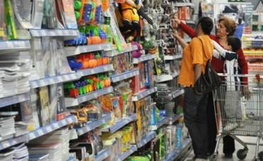 Las ventas minoristas cayeron 4,1% en febrero
