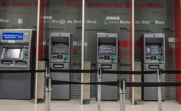 El Nuevo Banco de Entre Ríos reemplazó cajeros automáticos en siete localidades. Uno en Federal