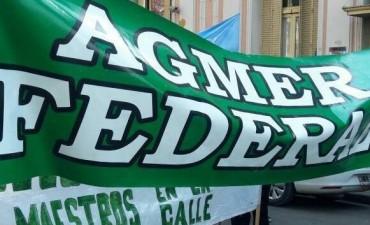 Agmer Federal se planto en la Delegación de Trabajo ante la posibilidad de presencia de algún empleado en las Escuelas durante la jornada de huelga
