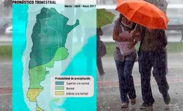 El otoño será levemente más cálido y tendrá lluvias superiores al nivel normal