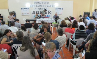 Resoluciones del Congreso Extraordinario de Agmer en Colon