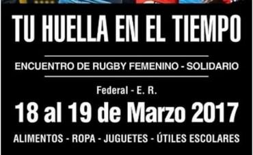 1 Encuentro de Rugby Femenino Solidario en Federal
