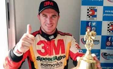 Werner terminó segundo en la primera final de la Clase 3 del TN en La Pampa