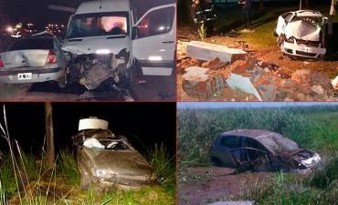 Fin de semana trágico en Entre Ríos: Ocho fallecidos en accidentes de tránsito
