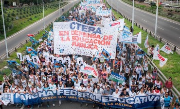 CTERA llamó a nueva huelga docente para la próxima semana